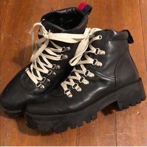 Steve Madden Hiker Combat Boot
